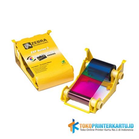 Ribbon Color YMCKO Zebra ZXP3