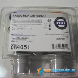 P/N : 84051 YMCK Color Ribbon Fargo HDP5000