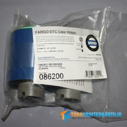 P/N: 86200 YMCKO Color Ribbon Fargo DTC550