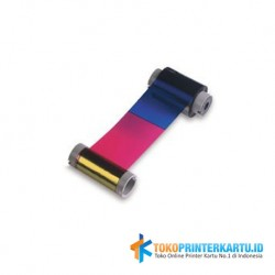 Ribbon Color YMCKO Fargo DTC4500e