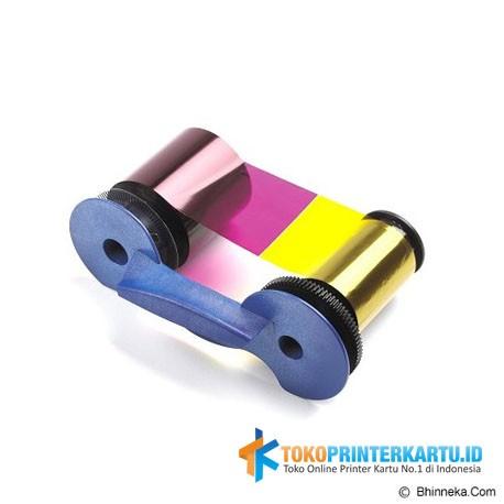 Ribbon Color YMCKT Datacard SP25 Plus
