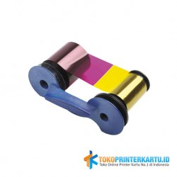 Ribbon Color YMCKT Datacard SP35 Plus & SP55 Plus