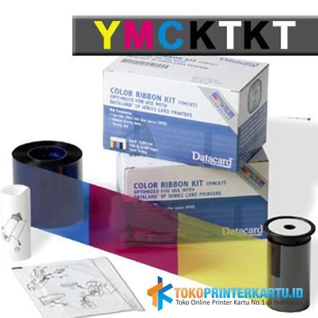 Ribbon Color YMCKT-KT Datacard SD360