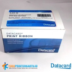P/N : 534000-053 Ribbon Black HQ Datacard SP35 Plus dan SP55 Plus