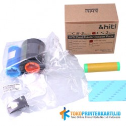 P/N : HTI-RB-87R0B0919X Ribbon Black Hiti CS200e