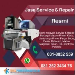 Service Printer Kartu