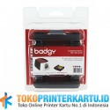 PN: CBGP0100C Ribbon Color YMCKO Evolis Badgy