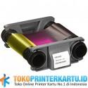 PN: CBGR0001C Ribbon Color YMCKO Evolis Badgy