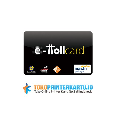 Cetak Kartu E-Toll Custom